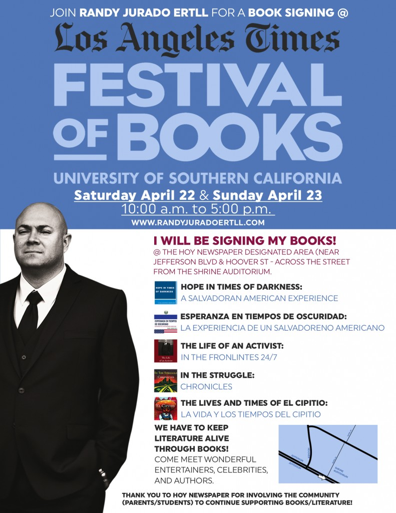 L.A. Times Festival of Books - Randy Jurado Ertll - Final Invitation