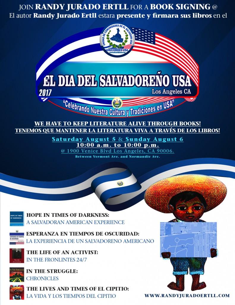 Salvadoran American Day Randy Jurado Ertll