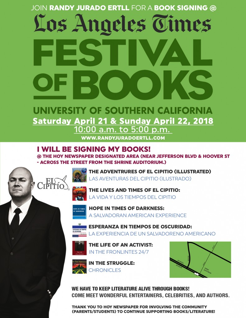 L.A. Times Festival of Books - Randy Jurado Ertll - 2018